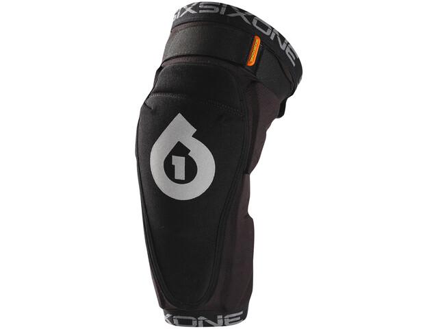 SixSixOne Rage Knee Guard black